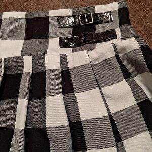 Justice girls mini ruffled skirt